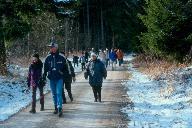 Wanderung im Saupark 2001
